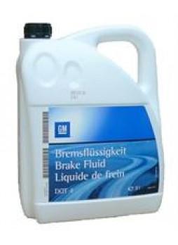 """Жидкость тормозная dot 4, """"BRAKE FLUID"""", 5л"""