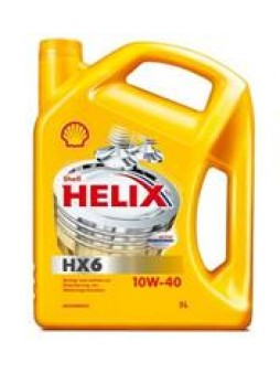 """Масло моторное минеральное """"Helix HX6 10W-40"""", 4л"""