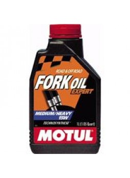 "Масло вилочное ""Fork oil expert medium/heavy 15W"", 1л"