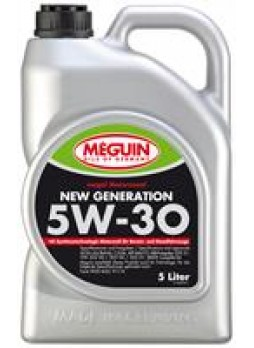 "Масло моторное синтетическое ""Megol New Generation 5W-30"", 5л"