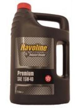 """Масло моторное минеральное """"Havoline Premium 15W-40"""", 5л"""