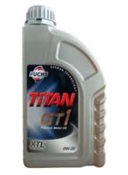 """Масло моторное синтетическое """"TITAN GT1 0W-20"""", 1л"""
