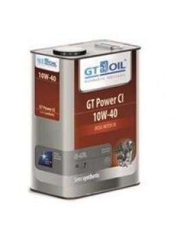 """Масло моторное полусинтетическое """"GT Power CI 10W-40"""", 4л"""