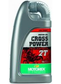 Motorex масло моторное cross power 2t 1l синтетика