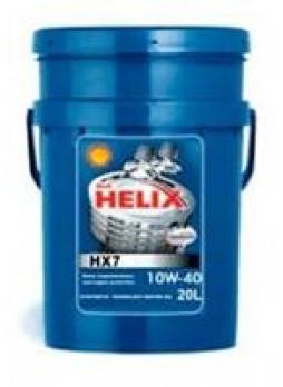 """Масло моторное полусинтетическое """"Helix HX7 10W-40"""", 20л"""