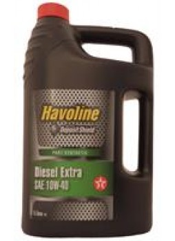 """Масло моторное полусинтетическое """"Havoline Diesel Extra 10W-40"""", 5л"""