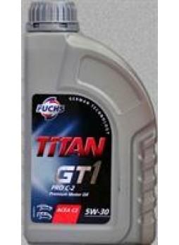 """Масло моторное синтетическое """"TITAN GT1 PRO C-2 5W-30"""", 1л"""