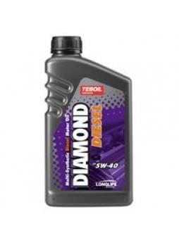 "Масло моторное синтетическое ""Diamond Diesel 5W-40"", 1л"