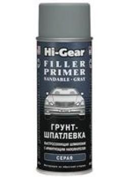 """Грунт-шпатлевка автомобильная с армирующим наполнителем, быстросохнущая, шлифуемая """"FILLER PRIMER SANDABLE"""" ,283г Hi-Gear HG5732"""