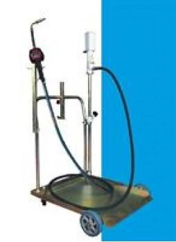 Маслораздаточная мобильная уст-ка с пневмонасосом и электрон. расходомером Trommelberg UZM12990