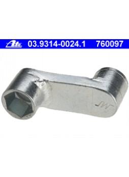 Ключ для суппорта дискового колесного торм. механизма Ate 03.9314-0024.1