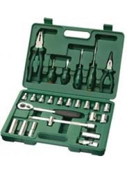 Набор инструментов комбинированный (metric), 26 предметов Sata 09501