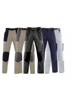 Брюки tenere, размер xxxl, цвет серый с черными вставками, хлопок 100%, 290 g/m2 Kapriol 31124