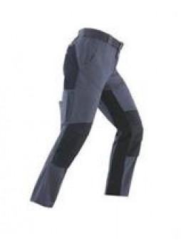 Брюки niger, xl, цвет серый с черными вставками Kapriol 31058