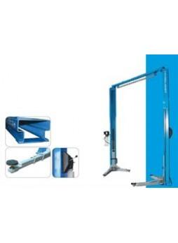 Подъемник 2-х стоечный, электрогидравлический, асимметричный tst45ash, грузоподъемность 4,5 т Trommelberg TST45ASH