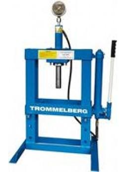Пресс 10т настольный с манометром Trommelberg SD100802