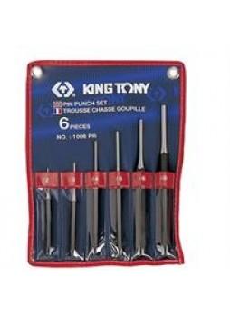 Выколотки комплект 6 предметов King tony 1006PR