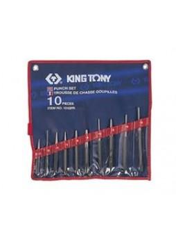 Выколотки комплект 10 предметов+ кернеры+бородки King tony 1010PR