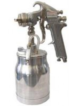"Ja-507s покрасочный пистолет ""Краскопульт"" нижний бачок алюминиевый 1л, дюза 1,6мм Jonnesway JA-507S"
