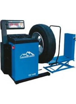 Балансировочный станок с пневматическим подъемным устройством для колес до 130 кг Trommelberg CB1448