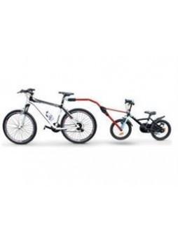 Прицепное устройство детского велосипеда к взрослому (красное)