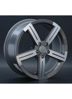 """Диск колёсный литой """"R2. 6.5x16, 5x100, ET45, D73.1, насыщенный темно-серый полностью полированный (GMF)"""""""