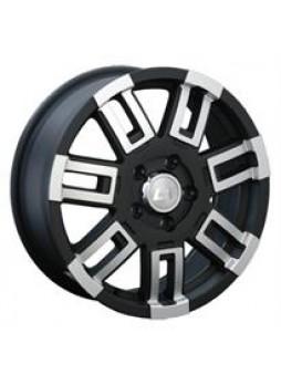 """Диск колёсный литой """"158 8x16, 5x139,7, ET30, D98.5, черный с дымкой полированный (MBF)"""""""