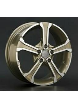 """Диск колёсный литой """"R4 6x15, 5x114,3, ET52.5, D73.1, золотистые брызги шампанского полностью полированный (FCGF)"""""""