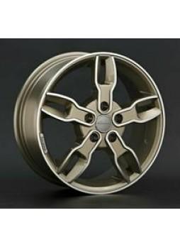 """Диск колёсный литой """"SA1 6.5x16, 5x114,3, ET52.5, D67.1, золотистые брызги шампанского полностью полированный (FCGF)"""""""