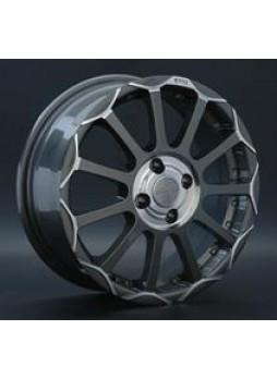 """Диск колёсный литой """"R5 6x15, 5x114,3, ET52.5, D73.1, насыщенный темно-серый с полированной центральной ступицей и ободом (GMCL)"""