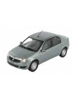 """Модель автомобиля """"Renault Logan (Phase 2) 1.5 DCI 1:43"""", серебристый"""