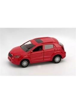 Модель автомобиля actyon (new) цвет красный