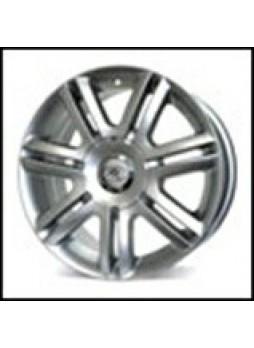 """Диск колёсный литой """"074 7.5x17, 5x112, ET45, D57.1, серебро (S)"""""""