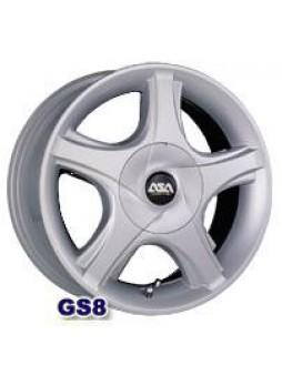 """Диск колёсный литой """"GS8 4.5x14, 4x100, ET45, D54.1, серебро"""""""
