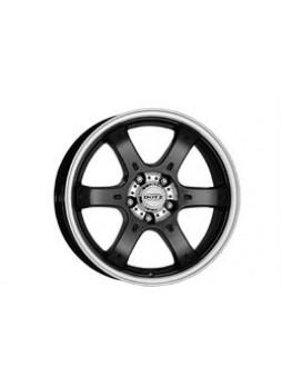 """Диск колёсный литой """"Crunch 8x18, 5x127, ET35, D71.6, черный полированный (BKF/P)"""""""