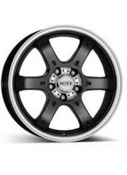 """Диск колёсный литой """"Crunch 8x18, 6x114,3, ET30, D66.1, черный полированный (BKF/P)"""""""