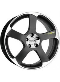"""Диск колёсный литой """"Freeride Peak 7x16, 4x108, ET40, D70.1, черный матовый, полированный (GMF)"""""""