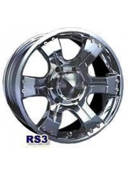 """Диск колёсный литой """"RS3 8x16, 5x114,3, ET20, D71.4, серебро"""""""