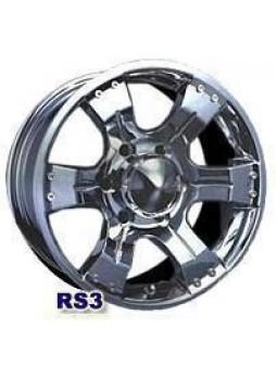 """Диск колёсный литой """"RS3 8x16, 6x139,7, ET20, D108, серебро"""""""