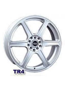 """Диск колёсный литой """"TR4 7x16, 5x114,3, ET40, D73, серебро"""""""