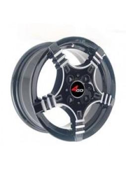 """Диск колёсный литой """"240 5.5x13, 4x98, ET35, D58.6, черный с алм. обр. полки (BML)"""""""