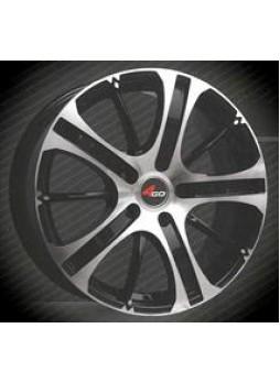 """Диск колёсный литой """"69 6x14, 4x100, ET38, D67.1, тёмно-серый с алм.обр.лиц.поверх (GMMF)"""""""