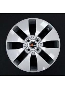 """Диск колёсный литой """"400 6x15, 4x100, ET45, D67.1, серебристый"""""""