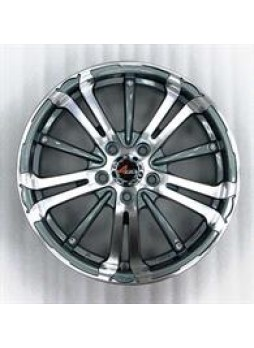 """Диск колёсный литой """"213 6.5x16, 5x108, ET45, D67.1, тёмно-серый с алм.обр.лиц.поверх (GMMF)"""""""