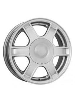 """Диск колёсный литой """"KC576 (14_LOGAN) 5.5x14, 4x100, ET43, D60.1, silver"""""""