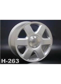 """Диск колёсный литой """"H-263 8x18, 5x130, ET57, D71.6, сверкающее серебро (перламутр) (SS)"""""""