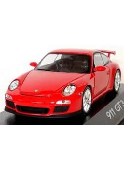"""Модель автомобиля """"Porsche 911 GT3 (997, Modell 2009) 1:43"""", красный"""