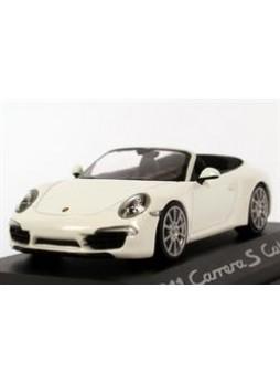 """Модель автомобиля """"Porsche 911 Carrera S Cabriolet (991) 1:43"""", белый"""
