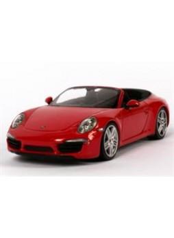 """Модель автомобиля """"Porsche 911 Carrera Cabriolet (991) 1:43"""", красный"""