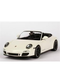 "Модель автомобиля ""Porsche 911 Carrera GTS Cabriolet (997, Modell 2011) 1:43"", белый"